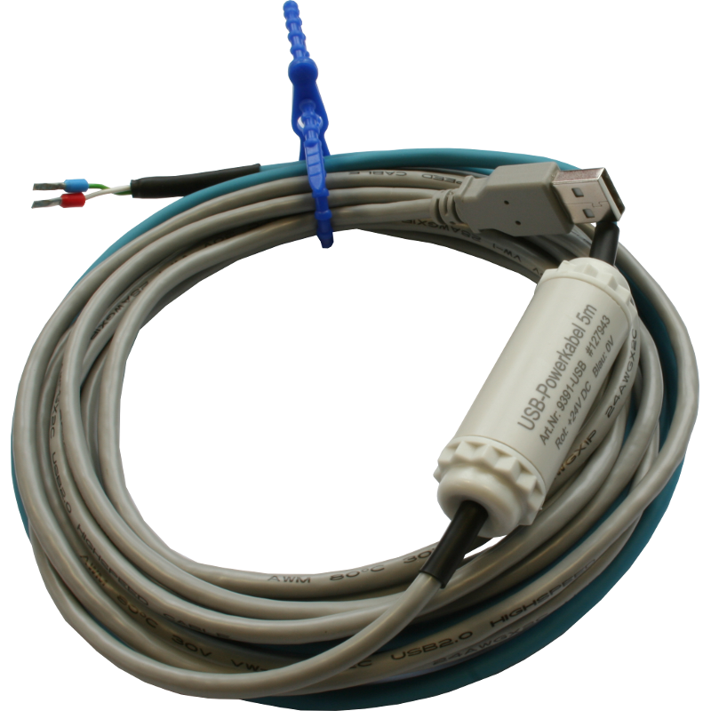 USB-powercable for 24V DC - Process Informatik